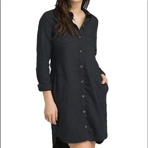 Prana Yarrow black dress M